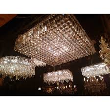 glam lighting. Glam Art Deco Style Collection 12 Light Chrome Finish Crystal Square Flush Mount Chandelier 28\ Lighting