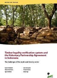 Timber Legality Verification System And The Voluntary Partnership ...