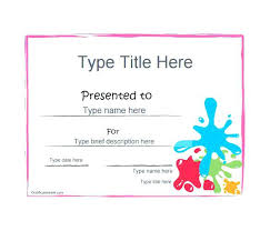 Make An Award Certificate Online Free Surprise Friends Family And Customers With Gift Certificates