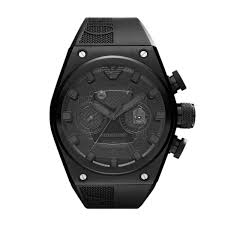 armani men s super ar4903 black rubber automatic watch emporio armani men s super ar4903 black rubber automatic watch