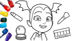There are many benefits of coloring for children, for example : Vampirina Coloring Pages 1080p Disney Junior Youtube