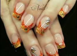 gel nail designs for fall 2014. fall acrylic nail designs, designs gel for 2014