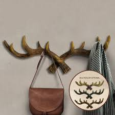 Restaurant Coat Racks Art Retro Antlers Wall Hooks Hooks House Restaurant Wall Decorations 22