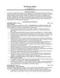 Operations Management Resume Examples Resume For Study