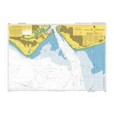 Marine Chart Portsmouth Harbour Admiralty Chart 2625 Approaches To Portsmouth