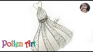 How to Sketch Wedding <b>Fashion Designs</b> Dress   how to draw ...