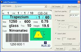Bar Code Labels For Layouts