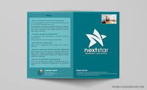 Bi Fold Brochure Design In Real Estate