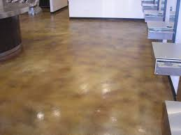 Cement Kitchen Floor Diy Stained Concrete Kitchen Floor Kitchen Design