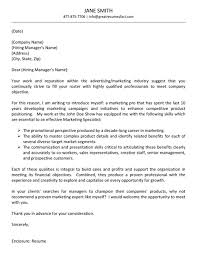 cover letter example advertising cover letter example