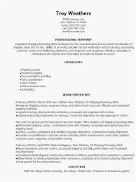 Best Resume Samples 2015 Most Desirable Shipping And Receiving Resume Samples To Your