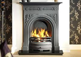 gas cast iron fireplace cast iron fireplace in black gas inserts for cast iron fireplaces