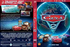 cars 2 the movie cover. Plain Cars Cars 2  Front Intended The Movie Cover M