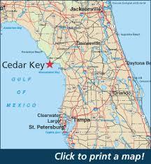 Tide Chart For Cedar Key Florida Click To Print A Pdf Map To Cedar Key In 2019 Cedar Key Fl