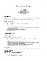 resume objective clerical resume objectives for clerical twenty hueandi co soaringeaglecasino us
