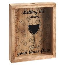 details about wine cork collection box collector display holder frame storage gift hanging