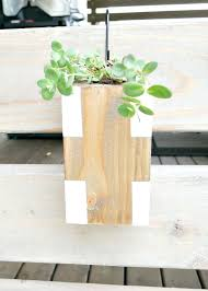 hanging wood planters wooden hanging planters hanging wooden flower planters