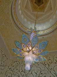 sheikh zayed grand mosque abu dhabi uae wonderful chandelier with more ornaments
