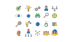 Strategy Presentation Icons Free Powerpoint Templates