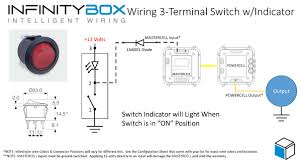 12 volt rocker switch light wiring diagram solidfonts round rocker switch 12v led prewired in blue red green standard 4pin relay hid driving light or spot wiring diagram