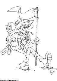 Kleurplaten Tekeningen Scoga Scouting Gaanderen