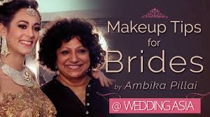 makeup tips for brides ambika pillai bollywood makeup artist wedding asia