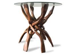 organic teak side table coffee table 1960