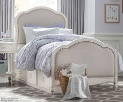 Legacy Classic Bedroom Furniture Harmony Twin Size Victoria Upholstered Panel Bed 4910 4803k