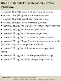 Top 8 Wintel Administrator Resume Samples