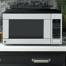 ge stainless steel countertop microwave profile series cu ft watt stainless steel microwave oven ge profile