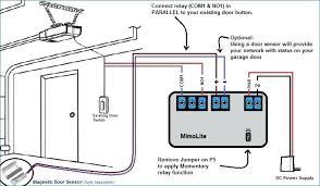 lift master garage door sensors wiring diagram diy wiring diagrams u2022 rh socialadder co commercial garage door opener wiring diagram chamberlain garage