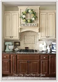 painting kitchen cabinets 2 different colors. french farmhouse kitchen sources painting cabinets 2 different colors