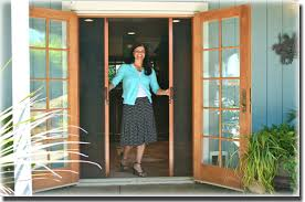 French Patio Doors With Screens Sacramento Ca A To Z Window In Modern Design