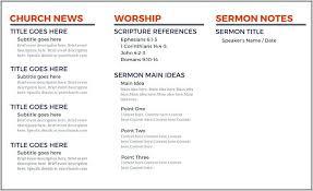 Church Program Templates Free Download Bulletin Templates Free Download Ushouldcome Co
