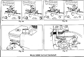small engines briggs and stratton governor linkage diagrams 12.5 HP Briggs and Stratton Wiring Diagram Make#286707 Type 0 briggs and stratton governor linkage diagrams