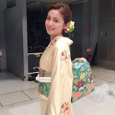 久慈暁子さんのインスタグラム写真 久慈暁子instagram 鳥の子色の