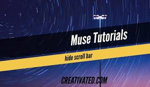 How to hide scroll bars in Adobe Muse created site - Free Muse ...