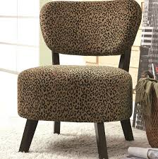 coaster leopard print accent chair animal chairs zebra ashley furniture