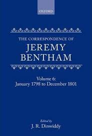 jeremy bentham works the collected works of jeremy bentham correspondence volume 6