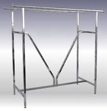 Heavy Duty Coat Rack Stands The Double Bar Garment Racks With Heavy Duty V Brace Support For 64