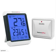 thermopro wireless backlight outdoor thermometer hygrometer humidity monitor trade me