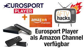 Eurosport Player via Amazon Channel auf Fire TV, PC, Handy & Tablet!