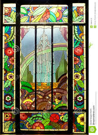Stained Glass Window Designs For Bathrooms Stained Glass Window Stock Photo Image Of House Color