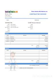 Invoice Statement Example Billing Statement Template