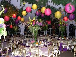 elegant garden party decorations