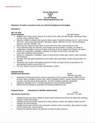 Electrical Engineer Resume Sample New Canadian Samples Canada