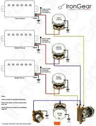 38 best guitar schematic images on pinterest guitar building Humbucking Pickup Wiring epiphone sg 3 volumes 1 tone wiring 3 humbuckers google search humbucker pickup wiring
