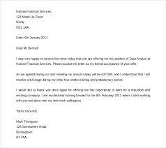 Job Offer Acceptance Email Format Jordanm Co