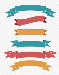 Png Label Design Banner Design Ribbon