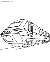 Small Picture Train Coloring Pages Pdf Coloring Pages